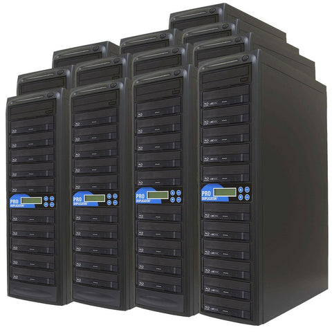 Produplicator 1 to 200 Blu-ray BDXL SATA Daisy Chain Duplicator + HDD - (200BD)