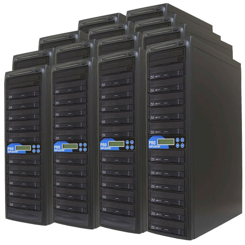 Produplicator 1 to 250 Blu-ray BDXL SATA Daisy Chain Duplicator + HDD - (250BD)