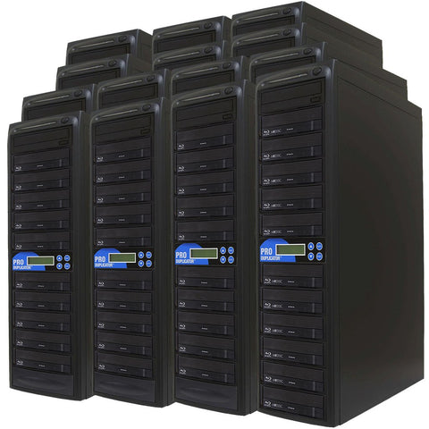 Produplicator 1 to 300 Blu-ray BDXL SATA Daisy Chain Duplicator + HDD - (300BD)