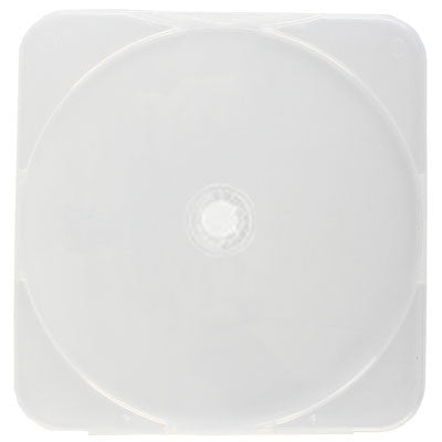 4mm Square Clam Shell Single Disc Capacity Clear Cases - ProDuplicator.com