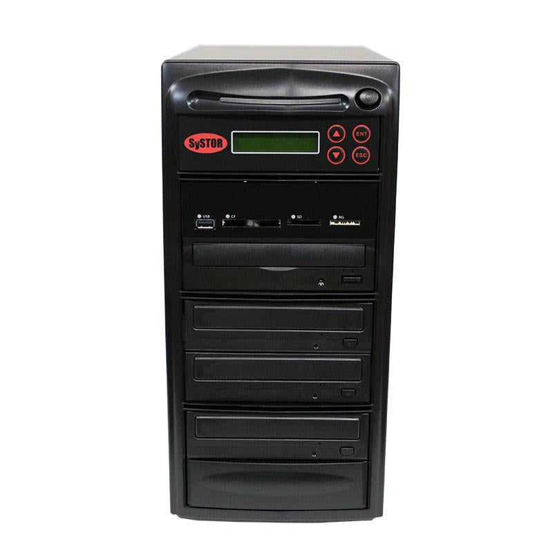 Systor 1:3 MultiMedia Center - USB/SD/CF to CD/DVD Duplicator (PMBC-3)