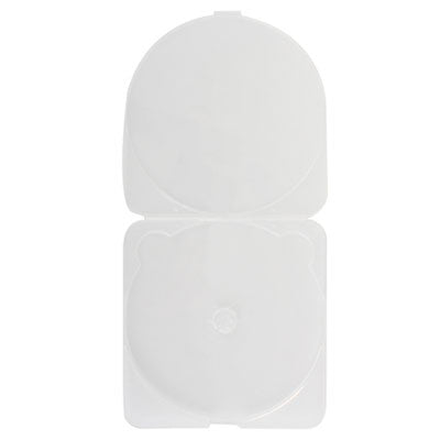 3.8mm Super Slim & Trim Single Disc Capacity Clear PP Poly Cases - ProDuplicator.com