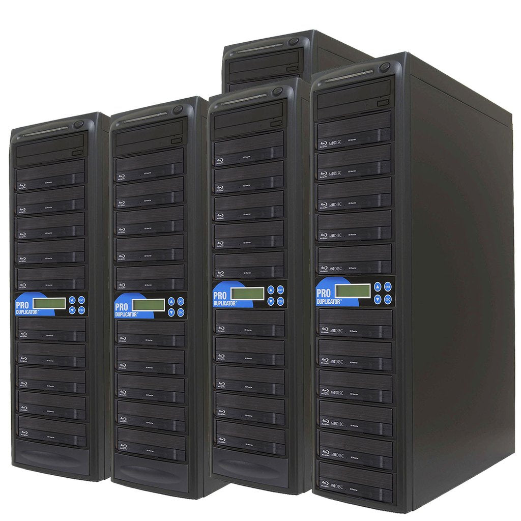 Produplicator 1 to 50 Blu-ray BDXL SATA Daisy Chain Duplicator + HDD - (50BD)