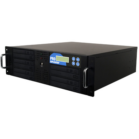 Produplicator 1:5 Rackmount CD DVD Duplicator + 500GB HDD (5DVDRM500GB)