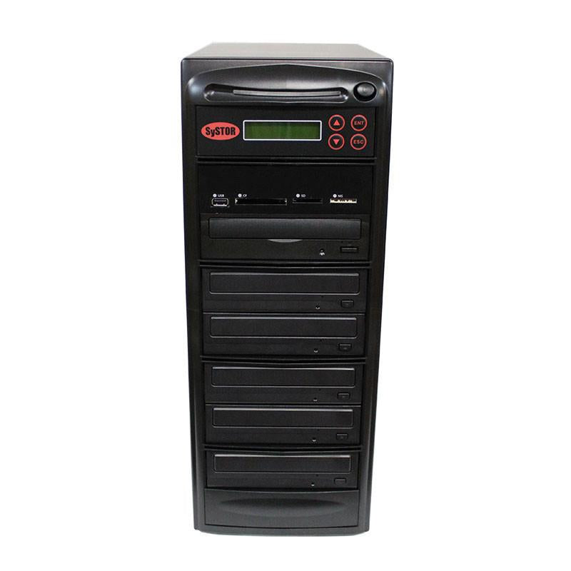 Systor 1:5 MultiMedia Center - USB/SD/CF to CD/DVD Duplicator (PMBC-5)