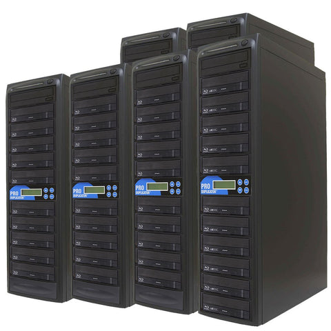 Produplicator 1 to 60 Blu-ray BDXL SATA Daisy Chain Duplicator + HDD - (60BD)