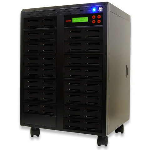 SySTOR 1:63  Multiple Compact Flash CF Memory Card Duplicator / Sanitizer - (SYS-CFD-63)