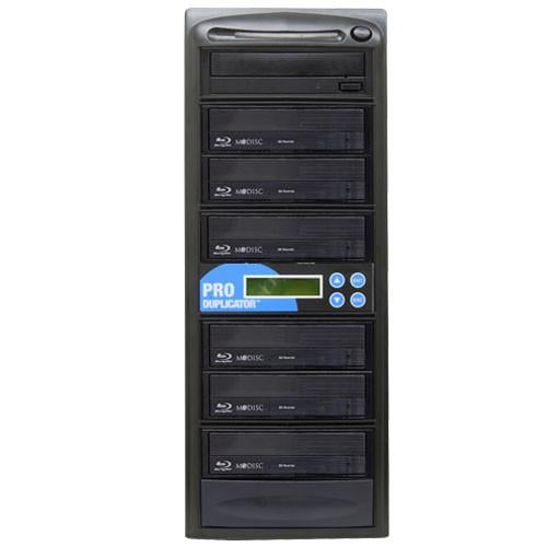 Produplicator 1 to 6 Blu-ray BDXL M-Disc Duplicator SATA Burner - ESBR06