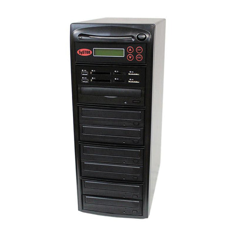 Systor 1:6 MultiMedia Center Plus - USB/SD/CF & CD DVD Duplicator (PMBC-P-06)