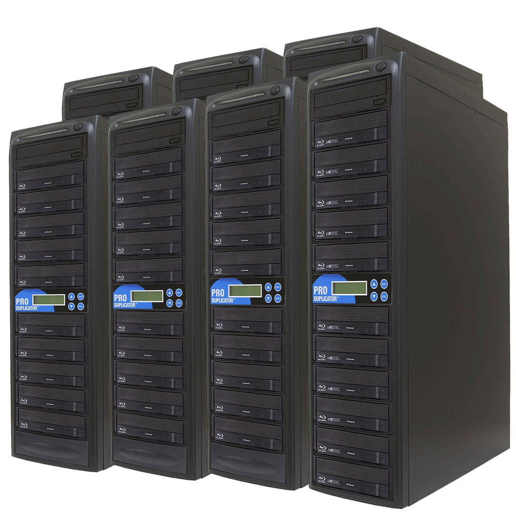 Produplicator 1 to 70 Blu-ray BDXL SATA Daisy Chain Duplicator + HDD - (70BD)