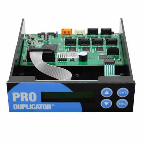 Produplicator 1:7 SATA CD DVD Copy Controller with LCD Display (JP707)