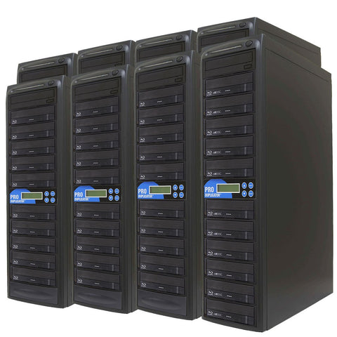Produplicator 1 to 80 Blu-ray BDXL SATA Daisy Chain Duplicator + HDD - (80BD)