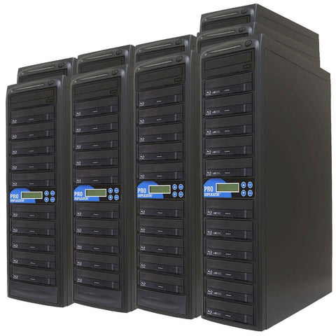 Produplicator 1 to 90 Blu-ray BDXL SATA Daisy Chain Duplicator + HDD - (90BD)