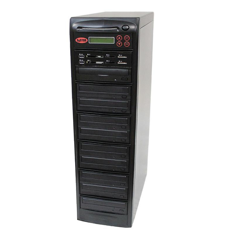 Systor 1:9 MultiMedia Center Plus - USB/SD/CF & CD DVD Duplicator (PMBC-P-09)