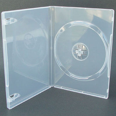 14mm Standard Single Disc Capacity Clear DVD Cases - ProDuplicator