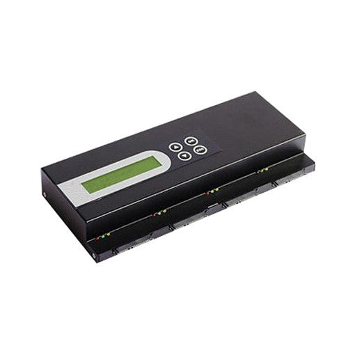 SySTOR Expandable SATA Hard Disk Drive Daisy Chain Duplicator / Copier / Sanitizer / Eraser (66MB/sec) - (3HDD-DC)