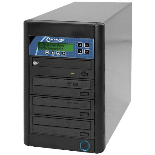 1 to 3 Microboards CopyWriter PRO Series DVD CD Duplicator - ProDuplicator.com