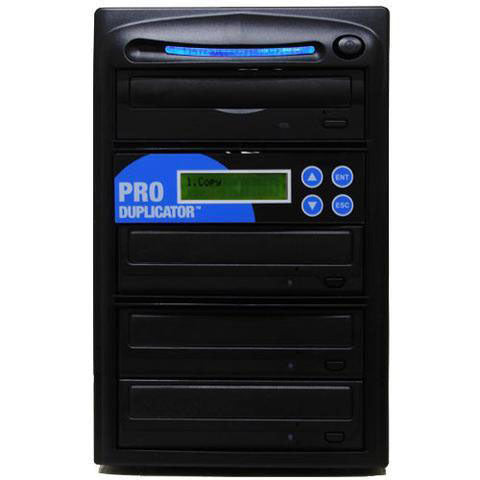 Produplicator 1 to 3 CD DVD Duplicator - ESDVDS24X03