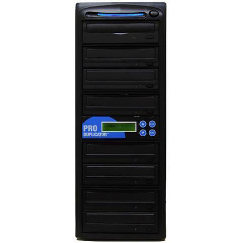 Produplicator 1 to 7 CD DVD Duplicator - ESDVDS24X07