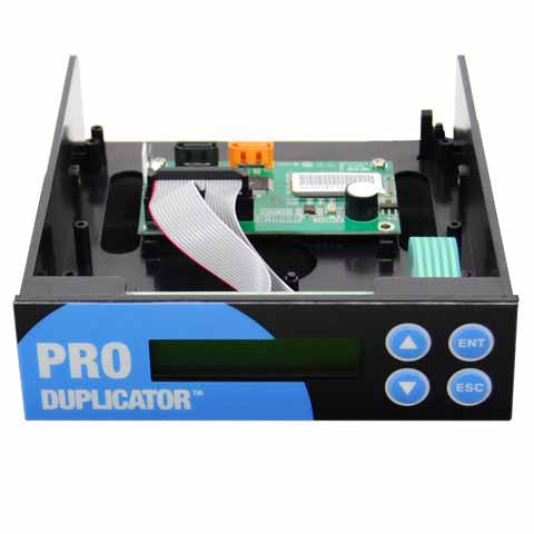 Produplicator SATA CD DVD Copy Controller with LCD Display