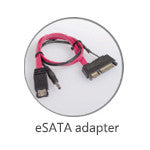 eSATA to SATA Hard Drive Adapter - ProDuplicator.com