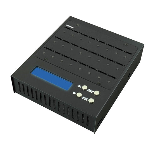 SySTOR 1 to 23 Portable microSD Flash Memory Card Duplicator (SYS-MINI23SD-MICRO)