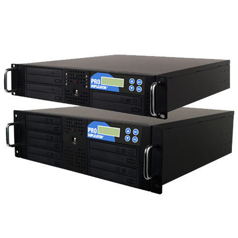 Rackmount Optical Disc Drive Duplicator