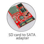 SD to SATA Hard Drive Adapter (P1039)