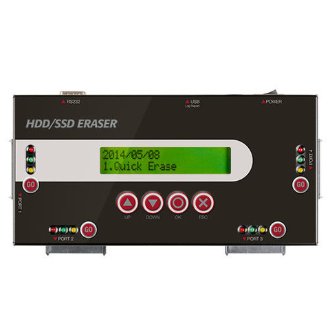 4 Port SATA HDD/SSD Eraser/Sanitizer/Wiper - ProDuplicator.com