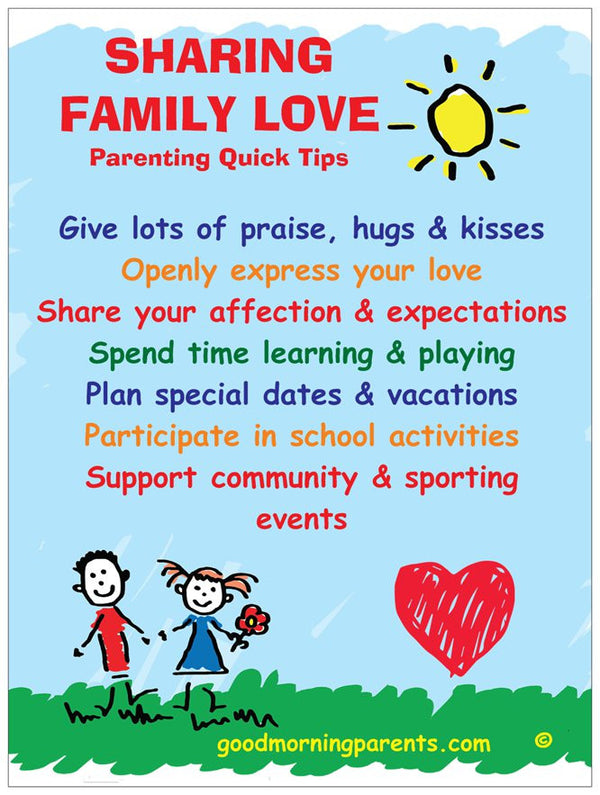 Sharing Family Love, Learn your child's love language