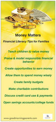 Financial Literacy Incentive Cards