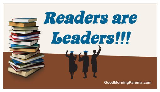 Readers are Leaders Magnet