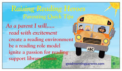 Raising Reading Hero Magnet