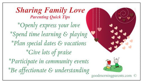 Showing Family Love Magnet