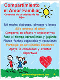 Showng Family Love Poster Spanish