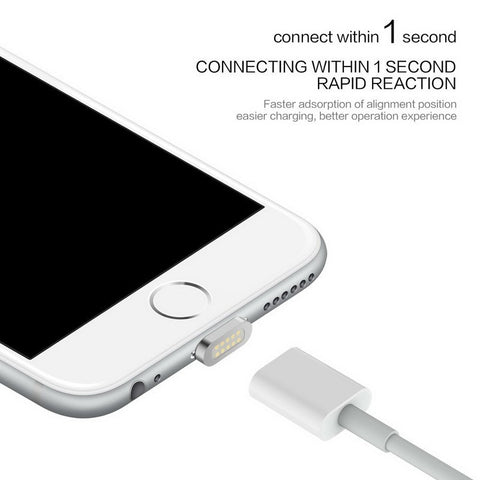2.4A Magnetic Charging Cable for iPhone & Android