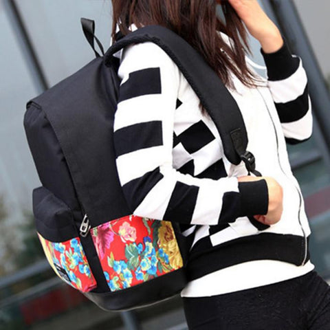 Colorful Printing Fashion Backpack