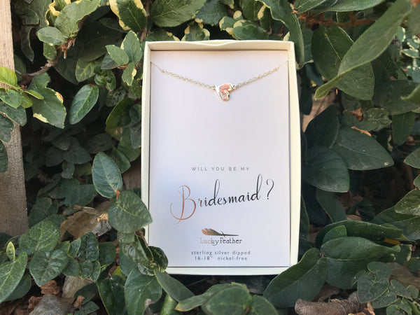 Will You Be My Bridesmaid Necklace