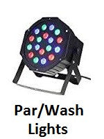 Par/Wash Lights