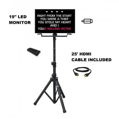 19'' LED MONITOR WITH STAND