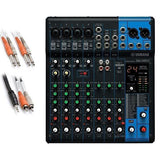 Yamaha MG10XU 10-Channel Compact Stereo Mixer and USB Audio Interface BONUS PAK