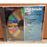 PIONEER KARAOKE CD+G SING ALONG THE PROFESSIONAL SERIES POP/ROCK VOL 30