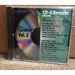 PIONEER KARAOKE CD+G SING ALONG THE PROFESSIONAL SERIES POP/ROCK VOL 3
