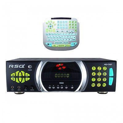 1TB RSQ HD 787 DIGITAL KARAOKE PLAYER  MULTIPLE LANGUAGE CDG