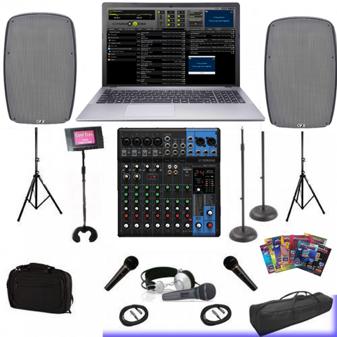CLUB DJ - WEDDING DJ - HOME DJ AND KARAOKE SYSTEM 4,500 karaoke songs