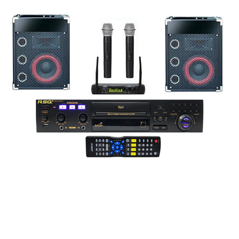 Home Karaoke System | Bluetooth Karaoke | Karaoke Player| Wireless Microphones| FREE Music