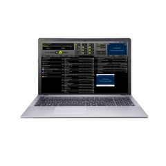 Karaoke DJ Laptop Professional System with DJ & Karaoke Music & Software 1000 free songs.