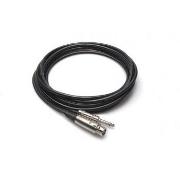 Microphone Cable XLR3F to 1/4 in TS