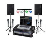 Professional Laptop Karaoke System, Yamaha DXR10 Speakers
