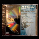 PIONEER KARAOKE CD+G SING ALONG THE PROFESSIONAL SERIES POP/ROCK VOL 24